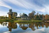 Beautiful arbor in the park
