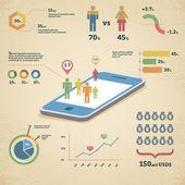 Vector infographics illustration