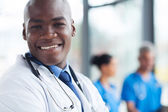 African american health care worker