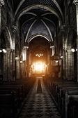 Finstere gotische Kathedrale