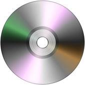 CD izolovaných na bílém