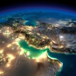 Постер, плакат: Night Earth Persian Gulf