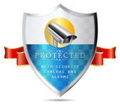 Labels - Security camera property protected