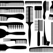 Постер, плакат: Set Of Different Combs