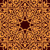 Arabo e islamico ornamento senza soluzione di continuità
