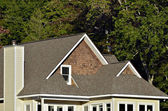Roof, top, house, architecture, design, build, shingles, siding, chimney, style, peaks, windows, pitch, steep, industry, construction ,