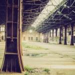Постер, плакат: Retro look Abandoned factory