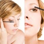 Постер, плакат: Make up Long Eyelashes woman