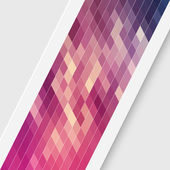 Vector Abstract Modern Mosaic Backgound