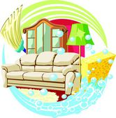 Interiér domu čistá