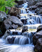Zamlžené vodopád