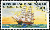REPUBLIC OF CHAD - CIRCA 1984: A stamp printed in Republic of Ch