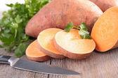 Syrové brambory sweet