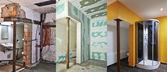 Sanierung und Bau von Trockenbau-Gipskarton in ein Bad