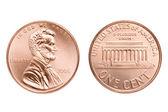 Penny makro izolované