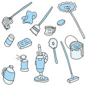 An image of cleaning items