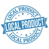 Razítko místní produkt
