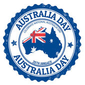 Australia day stamp