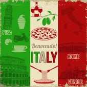Olaszország utazás poszter