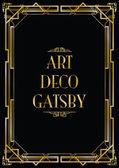 Gatsby-Art-Deco-Hintergrund