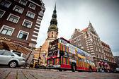 Riga város városnézés utazás busszal