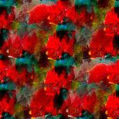 Absztrakt varrat nélküli piros kék kézzel festett akvarell háttér