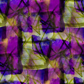Seamless cubism abstract purple yellow art Picasso texture water