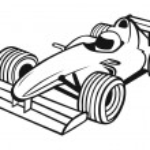 Постер, плакат: Formula 1 Racing Car