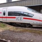 Постер, плакат: Fast train in Germany