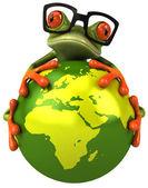 žába chránit zemi