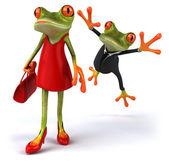 Sexy žába
