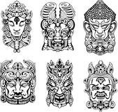 Hinduistické božstvo masky