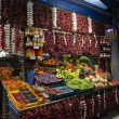 Постер, плакат: Fruit stand in Great Market Hall in Budapest