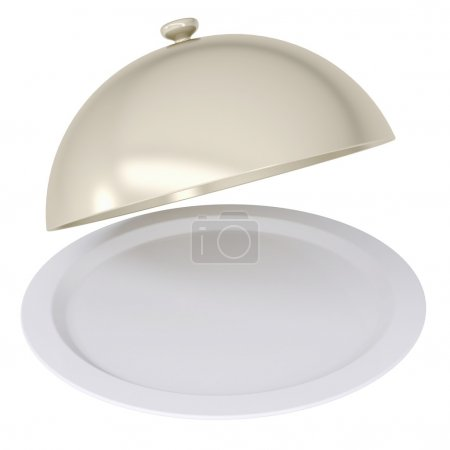 Постер, плакат: Steel utensils for meals in the restaurant, холст на подрамнике