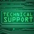 Постер, плакат: Technical support concept