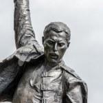 Постер, плакат: Freddie Mercury statue closeup
