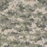 Постер, плакат: Camouflage pixels