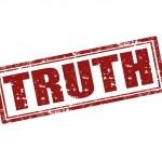 Постер, плакат: Truth stamp