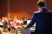 Referent bei Business-Konferenz und Präsentation