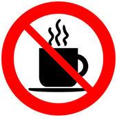 žádné znamení šálek kávy