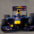 Постер, плакат: Team Red Bull Racing F1 Mark Webber 2011