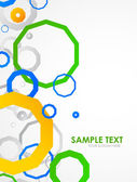 Vector abstract backround with space for text
