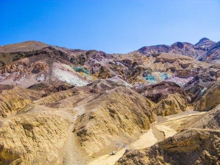 Постер, плакат: Artists Point Along Artists Drive Death Valley National Park, холст на подрамнике