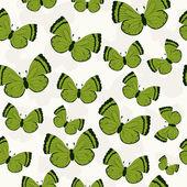 Beautiful butterfly pattern Vector illustration