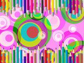 Iskola szín mutatja a művelt fejlesztés és színek