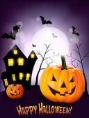 Halloween pozadí vektor