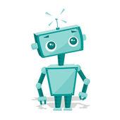 Roztomilý kreslený robot