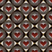 Absztrakt vektor illusztráció Valentin
