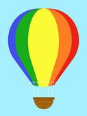 Bunten Heißluftballon