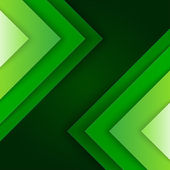 Abstract green triangle shapes background